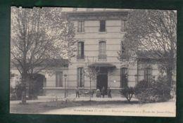 CPA (82) Montauban - Hôpital Temporaire N°5 - Lycée De Jeunes Filles - Cachet Hôpital Mal Imprimé Et Peu Visible - Montauban