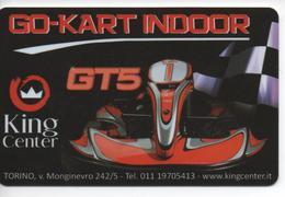 GO-KART INDOOR - CARTA INGRESSO - Gift Cards