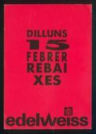 Barcelona. *Edelweiss* Circulada 1988. - Tiendas