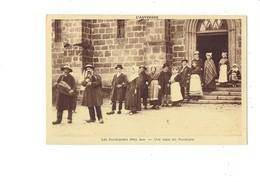 Cpa - Une Noce En Auvergne - Musique Joueur De Vielle - N°1694 G D'O - Noces