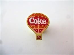 PINS COCA COLA  COKE MONGOLFIERE  / 33NAT - Coca-Cola