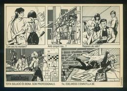 Barcelona. *Edelweiss* Ilustrador *Sergio Alejandro* Circulada 1988. - Tiendas