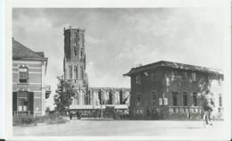 Overbetuwe - Elst - Korte Dorpstraat Met N.H. Toren En Kerkruine - Uitg. Boekh. J. Herberts, Elst - Sonstige