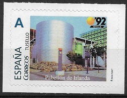 ESPAÑA. TUSELLO. EXPO'92 SEVILLA. PABELLON DE IRLANDA - 1931-Hoy: 2ª República - ... Juan Carlos I