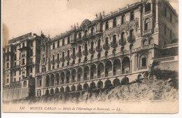 L20J424 - Monté Carlo -  Hotels De L'Hermitage Et Balmoral - LL  N°157 - Hotels