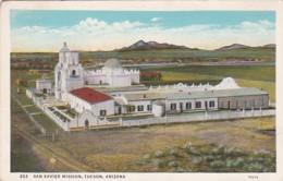 Arizona Tucson San Xavier Mission Curteich - Tucson