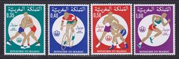 MAROC N°  765 à 768 ** MNH Neufs Sans Charnière, TB (D8146) Jeux Olympiques De Montréal - 1976 - Morocco (1956-...)