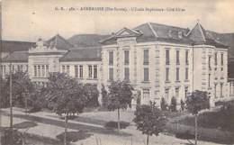 74 - ANNEMASSE : L'Ecole Supérieure - Côté Filles - CPA - Haute Savoie - Annemasse