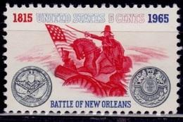 United States, 1965, Battle Of New Orleans, 5c, Sc#1261, MNH - Vereinigte Staaten