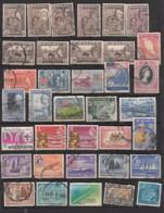 Malaya  Malaisie Lot De 36 Timbres - Gran Bretaña (antiguas Colonias Y Protectorados)