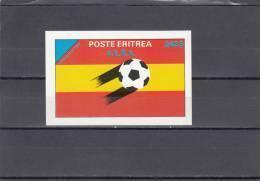 Eritrea Sello Futbol 82 Sin Dentar - Eritrea