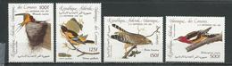 COMORES Scott C139-C142 Yvert PA207-PA210 (4) ** Cote 10,00 $ 1985 - Comores (1975-...)