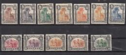 Nyassa  Sèrie 1901 Lot De 12 Timbres - Nyassa
