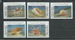 COMORES Scott 609-613 Yvert 421-425 (5) ** Cote 15,00 $ 1985 - Comores (1975-...)