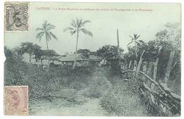 Cpa Guyane - Cayenne - La Pointe Macouria Au Confluent De Tonnégrande Et De Montsinéry - Cayenne