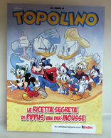 TOPOLINO LA RICETTA SEGRETA DI PIPPUS VAN DER MOUSSE KINDER MERENDINE - Cartoons
