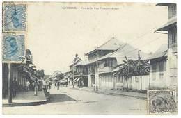Cpa Guyane - Cayenne - Vue De La Rue François Arago - Cayenne