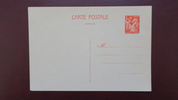 Entier Postal Iris Carte 1,50 Fr Orange Neuf TB - Biglietto Postale