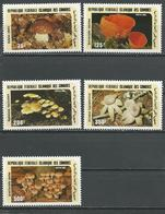 COMORES Scott 623-627 Yvert 435-439 (5) ** Cote 16,00 $ 1985 - Comores (1975-...)