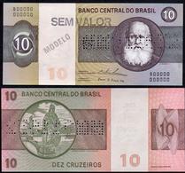 Brazil 10 Cruzeiros 1979 Specimen UNC - Brésil