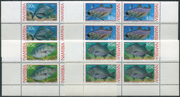 Namibia 1994. Michel #764/67 MNH/Luxe. Fishes. (B26) - Namibie (1990- ...)