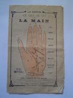 BROCHURE Ancienne : CHIROMANCIE / LES LIGNES DE LA MAIN / HAYARD éditeur - Vieux Papiers
