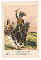 Uniforme.1er Empire.27e Chasseur à Cheval.Officier Tenue De Campagne. 1808.  Illustrateur P. Benigni.(9) - Uniforms