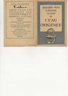 LIVRET DE 8 PAGES -L'EAU OXIGENEE - PUBLICITE GIFRER ET BARBEZAT - DECINES -ISERE - Werbung