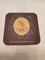 H S Gold Brasserie De La Haute Seine - Beer Mats