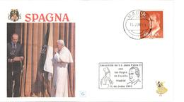12471 - Voyage JEAN PAUL II - 1991-00 Lettres