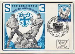 Austria Used Post Card - Jobs