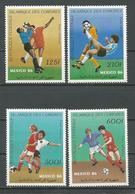 COMORES Scott C163-C166 Yvert PA229-PA232 (4) ** Cote 15,00 $ 1986 - Comores (1975-...)