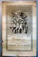 Hommage De La Nation, Mort Pour La France - Diplômes & Bulletins Scolaires