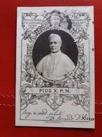 Papa Pius X. P. M. - Art Nouveau 1905 / Jugendstil - Vatican