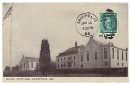 Cpa Etats-Unis / Usa - Annapolis - Naval Hospital - Annapolis