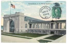Cpa Etats-Unis / Usa - Annapolis - Gymnasium, U.S. Naval Academy - Annapolis