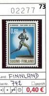 Finnland - Finland - Suomi - Finlande - Michel 742 - ** Mnh Neuf Postfris - Finlande