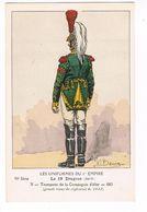 Uniforme.1er Empire. Le 19e Dragons.Trompette.   1812/13. Illustrateur P. Benigni . (49) - Uniformes