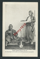 MONT LIBAN (Syrie) L.M.31. Un Domestique Sert Le Café à Son Maître Qui Fume Le Narguileh. 2 Scans. - Syrie