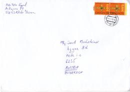 Auslands-Brief Von 038 43 Kláštor Pod Znievom Mit 2x 0,60 € 2018 - Slowakische Republik