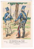 Uniforme.1er Empire.1er Hussards En Tenue D'exercice. 1807/10.  Llustrateur P. Benigni . (57) - Uniforms