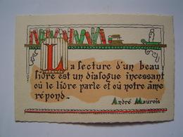 CARTE Ancienne : PUBLICITE LIBRAIRIE MONTBARBON / TOULON - Publicités
