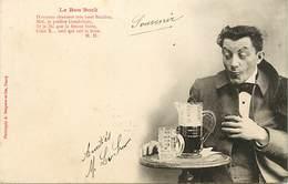 -ref-B139- Illustrateurs - Illustrateurs Bergeret - Le Bon Bock - Biere - Alcool - Carte Bon Etat - - Bergeret