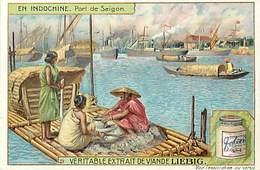 CH278 - Chromo Liebig - Indochine - Viet Nam - Vietnam - Le Port De Saigon  - Chromo Bon Etat - - Liebig