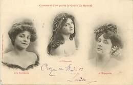 -ref-B138- Illustrateurs - Illustrateurs Bergeret - Comment On Porte Le Grain De Beauté - Femmes - Femme - Mode - - Bergeret