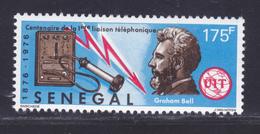 SENEGAL N°  430 ** MNH Neuf Sans Charnière, TB (D8151) 100 Ans Première Liaison Téléphonique -1976 - Senegal (1960-...)