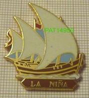 LA NINA Christophe COLOMB SANTA MARIA PINTA En Version ZAMAC ARTIMON - Boats