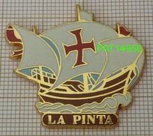 LA PINTA   Christophe COLOMB  NINA SANTA MARIA En Version ZAMAC  ARTIMON - Boats