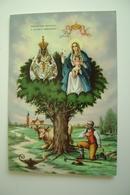 FOGGIA  SS. INCORONATA   MADONNA          RELIGIONE   VIAGGIATA  COME DA FOTO FORMATO GRANDE - Vergine Maria E Madonne