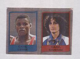 CARL LEWIS...SARA SIMEONI.....ATHLETICS...ATLETICA...OLIMPIADI...OLYMPICS - Atletica